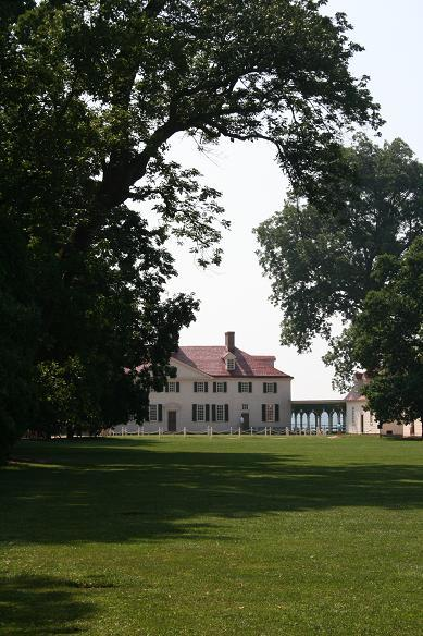 Mt. Vernon in shade