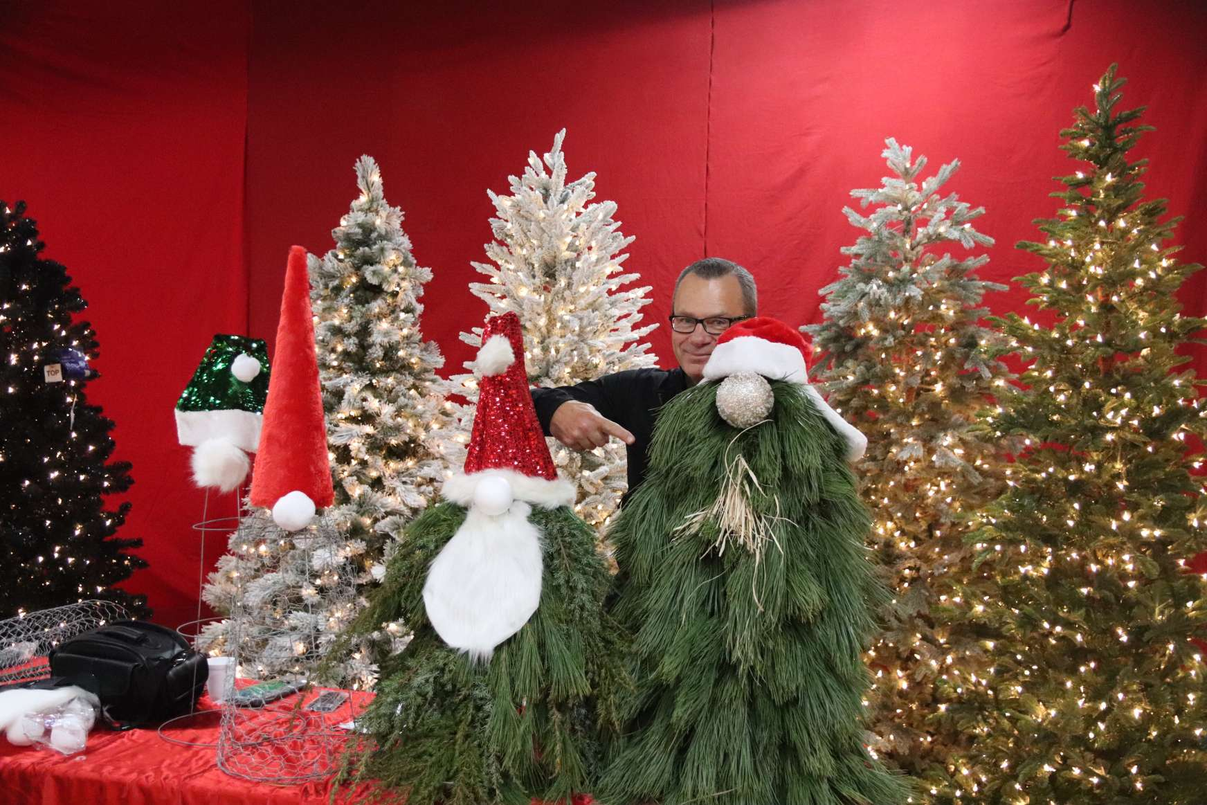 Creating Mythical Holiday Scandinavian Characters with Evergreen Boughs