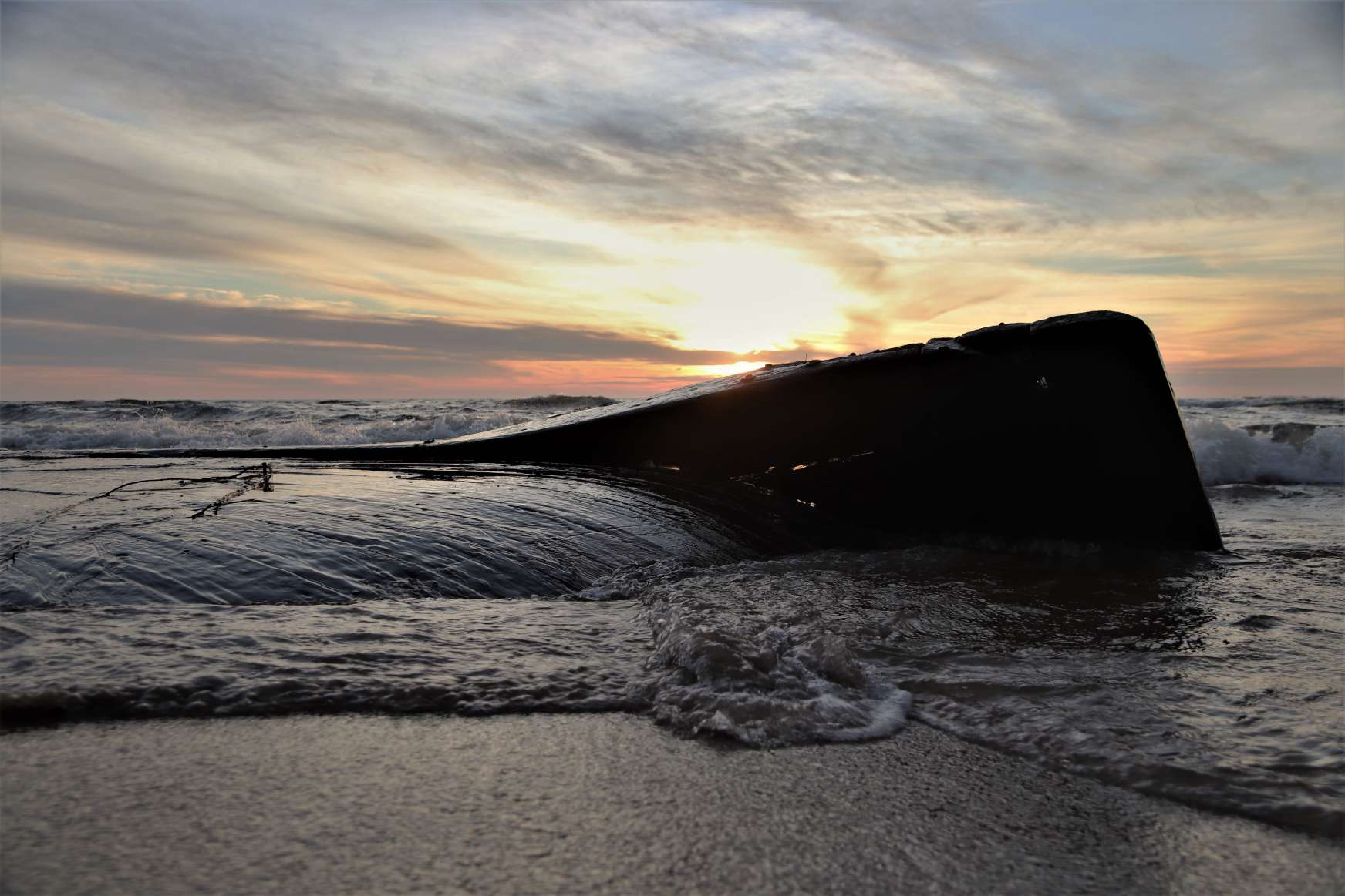 Lakeshore shipwreck update